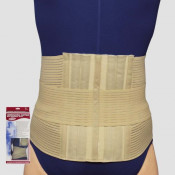 Lumbosacral Support with Abdominal Uplift - Tan