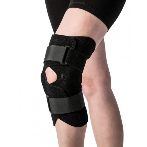 Front Closure Knee Brace with Hinge