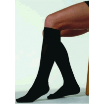 Juzo Attractive 4201 Unisex Ribbed Knee High Compression Socks CLOSED TOE 20-30 mmHg