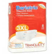 Tranquility Bariatric Brief 3X-Large Super Absorbency