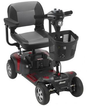 Phoenix 4 Wheel Heavy Duty Scooter - Drive Medical PhoenixHD4