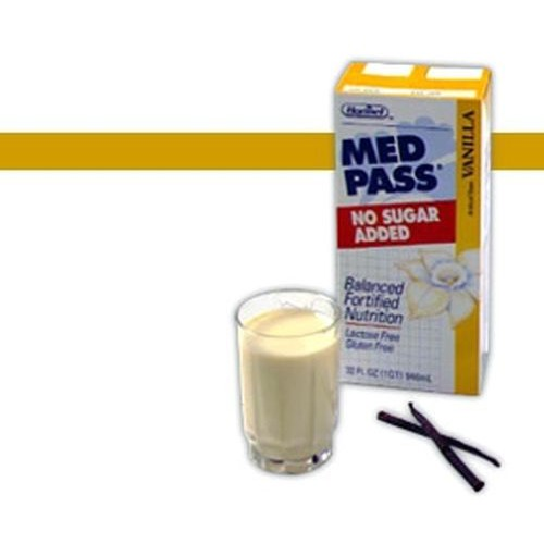 Med Pass 2.0 High Calorie High Protein Oral Supplement No Sugar Added Vanilla - 32 oz