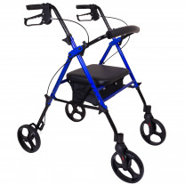 ProBasics Aluminum Height Adjustable Rollator with 8 Inch Wheels
