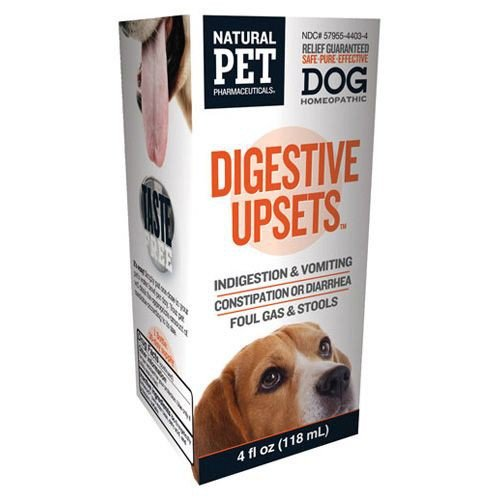 Homeopathic Natural Pet Dog Supplement - Digestive Upsets