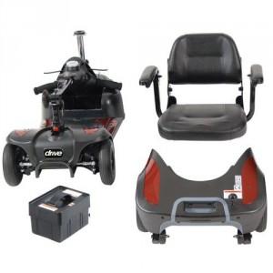 Phoenix HD 4 Wheel Heavy Duty Scooter Electric Power Mobility