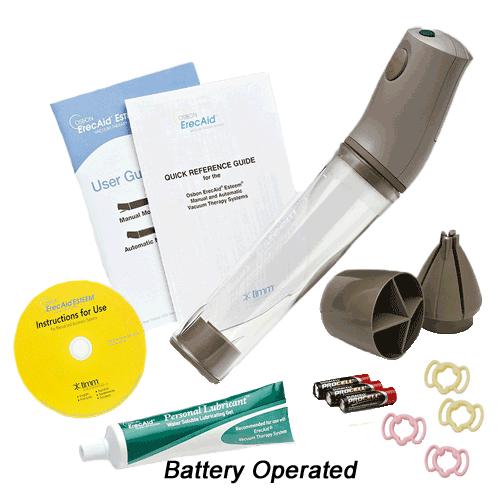 Osbon Erecaid Esteem Penis Pump Manual Or Battery