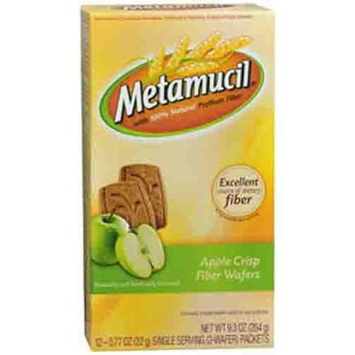 Metamucil Wafer Fiber Supplement