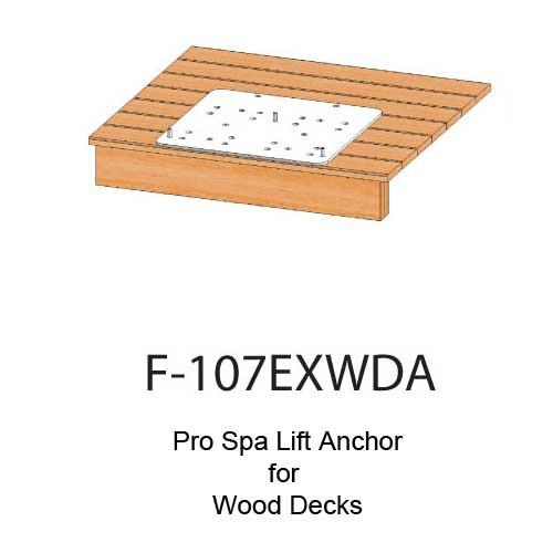 pool lift anchors and spa lift anchors for aqua creek products 0e0