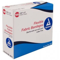 Flexible Fabric Bandages, Sterile