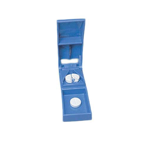 mckesson pill cutter hand operated blue  47f