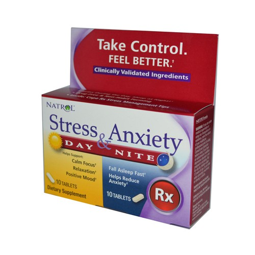 Stress Anxiety Day and Nite Formula