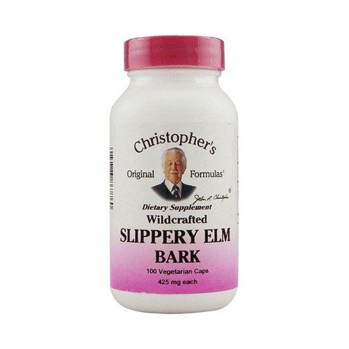 Christophers Slippery Elm Bark 425 mg Dietary Supplement