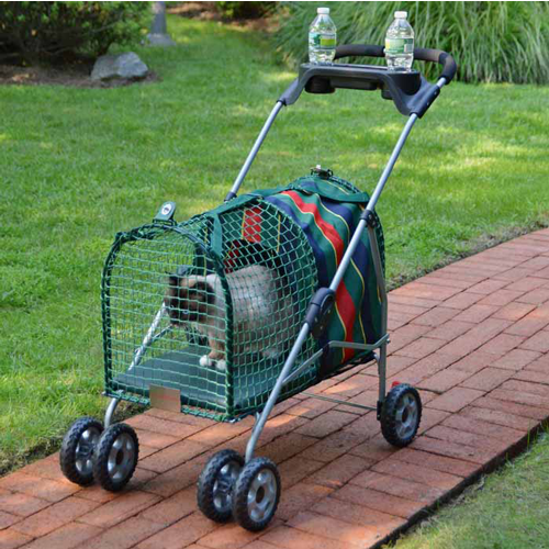 Kittywalk Original Stripe Stroller