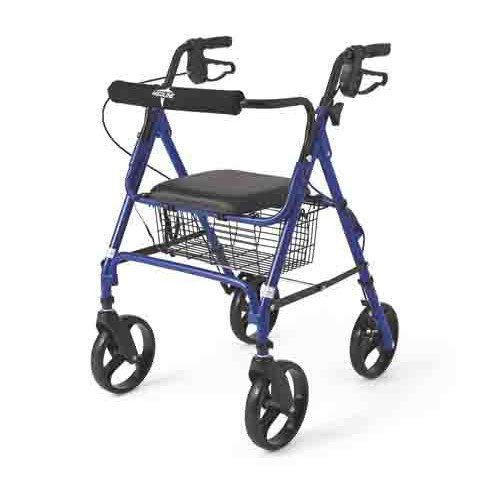 Guardian Rollators with 8 Inch Wheels - Blue