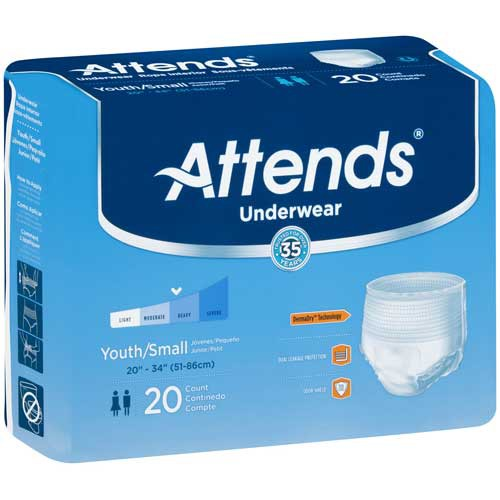 Attends Underwear Super Absorbency
