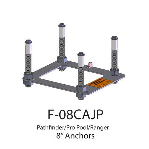 pool lift anchors and spa lift anchors for aqua creek products 48d