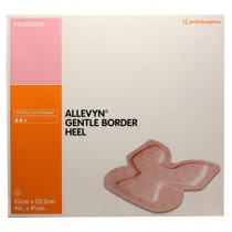 Smith and Nephew Allevyn 66800506 Gentle Border Heel