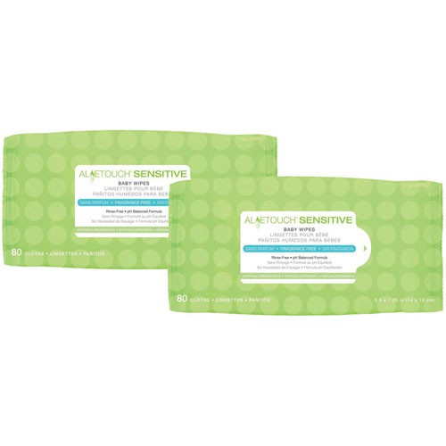 Aloetouch Sensitive Baby Wipes
