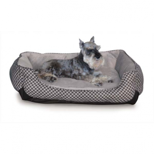 K and H Pet Products Square Warming Loung Sleeper