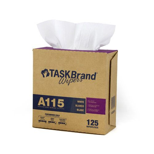 Taskbrand A115 Sontara Blue Wipers Creped Interfold Dispenser