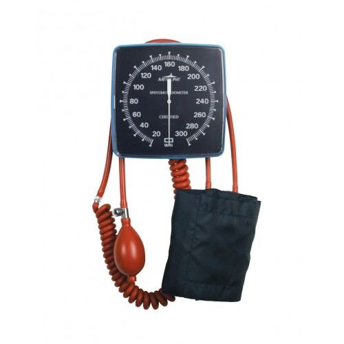 Wall Mount Aneroid Blood Pressure Monitor, Latex-Free
