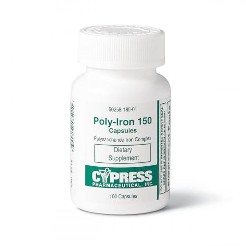 Cypress Pharmaceuticals Polyiron Capsules