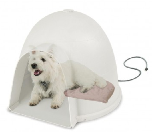 kh pet products lectro soft igloo style bed and cover 2b6