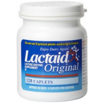 Lactaid Lactose Enzyme Supplement