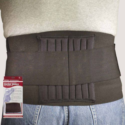 Heavy Duty Adjustable Sacro Brace with Thermo Pad