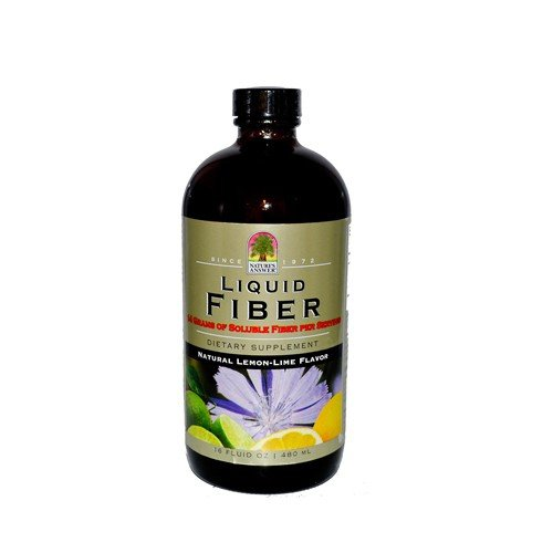 Liquid Fiber Natural Lemon Lime Flavor