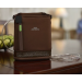 SimplyGo Mini Portable Oxygen Concentrator in Brown Case
