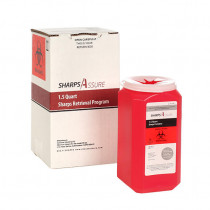 Sharps Assure 1.5 Quart Sharps Retrieval Program