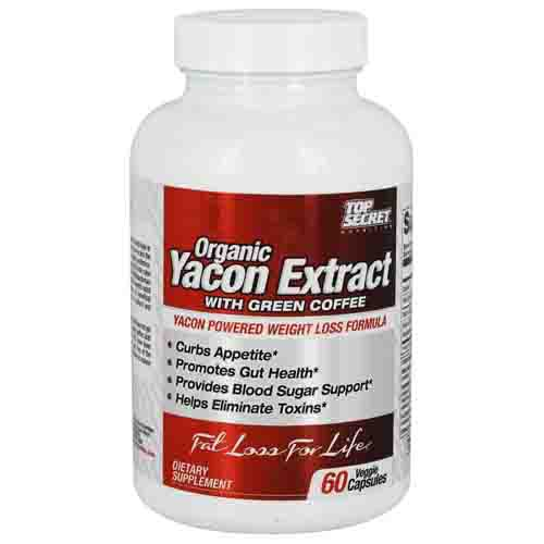 Organic Yacon Syrup Extract Orgranic Green Coffee