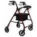 4 Wheel Walker Red