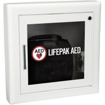 Semi-Recessed AED Cabinet with Alarm