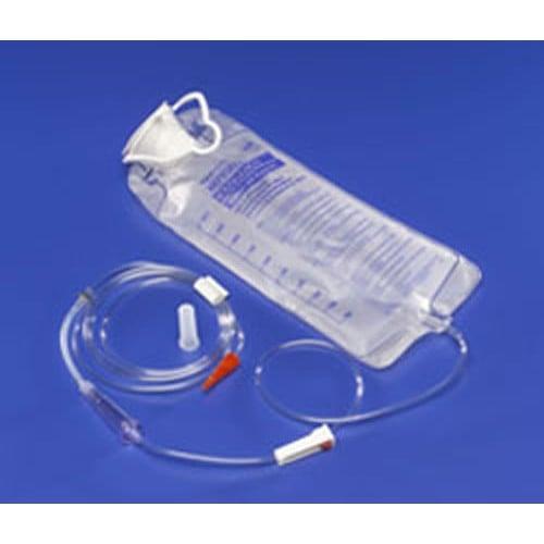 Aft Pump Set Enteral Feeding Pump Bag Set Kangaroo™ Anti-Free Flow 1000 mL