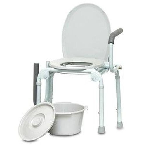 Drop Arm Commode by PMI