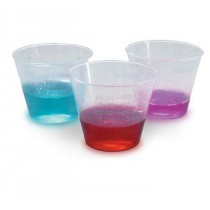 1 oz Cups Plastic Calibrated Medicine Cups in Ounces and Mil