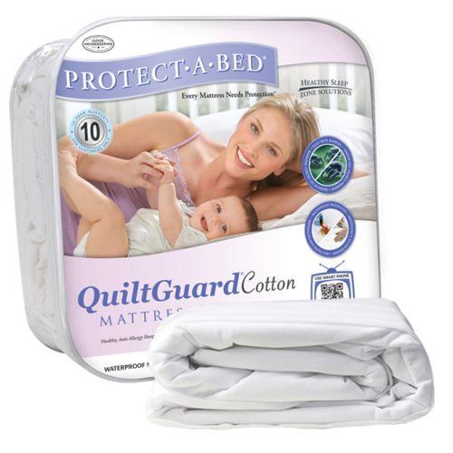 QuiltGuard Cotton Mattress Pad
