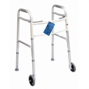 Folding Adult Walker with Glides
