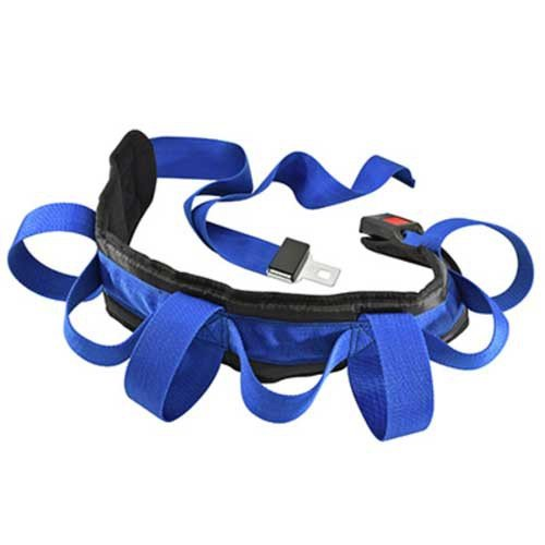 secure ultra wide transfer and walking gait belt with 7 caregiver handles 9af