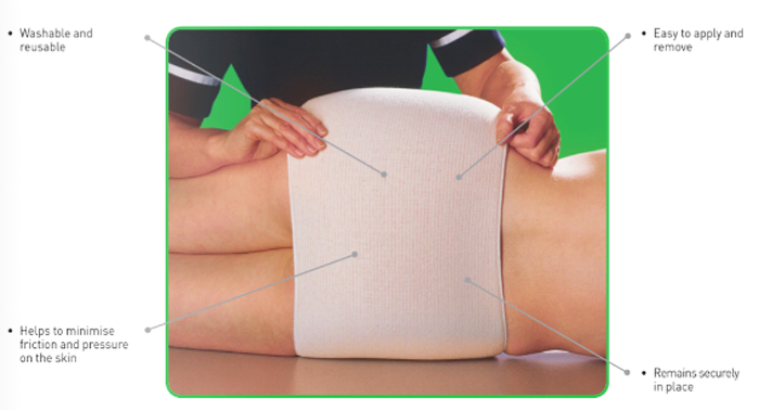 tubipad tubular limb foam bandage c3c