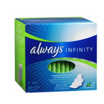 Always Infinity Pads with FlexFoam