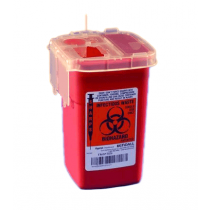 Kendall SharpSafety Autodrop Phlebotomy Container