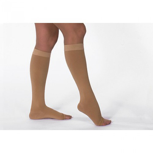 ultraline silver below knee compression stockings closed 40 50 mmhg