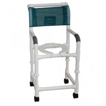 MJM PVC Adjustable Shower Chair