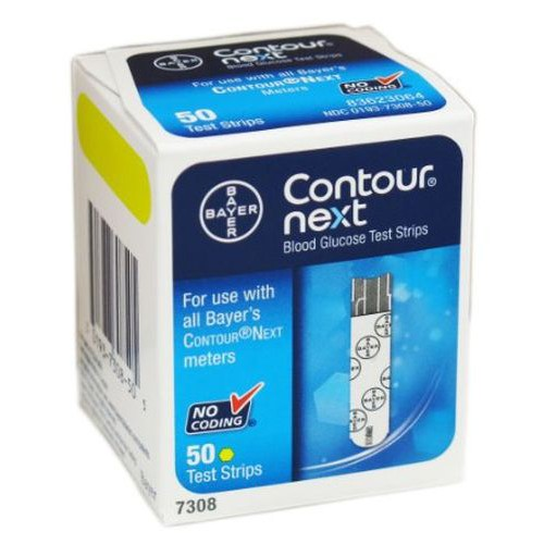 Contour Next Blood Glucose Test Strips