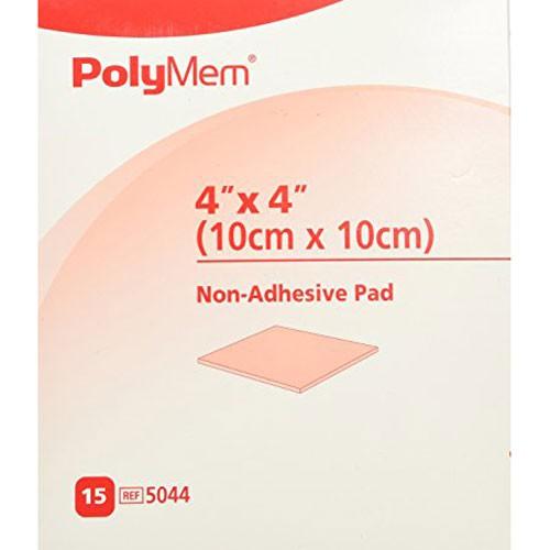 Ferris 5044 PolyMem Dressing | 4 x 4 Inch Pad | Vitality Medical