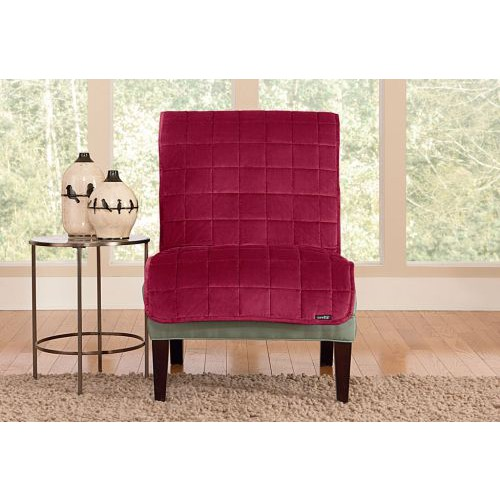 Astounding Sure Fit Deluxe Armless Furniture Cover 42417 43528 Download Free Architecture Designs Scobabritishbridgeorg