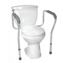 Drive Medical Toilet Safety Frame, Adjustable
